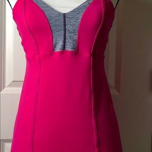 Lululemon Workout Top With Built-in Bra